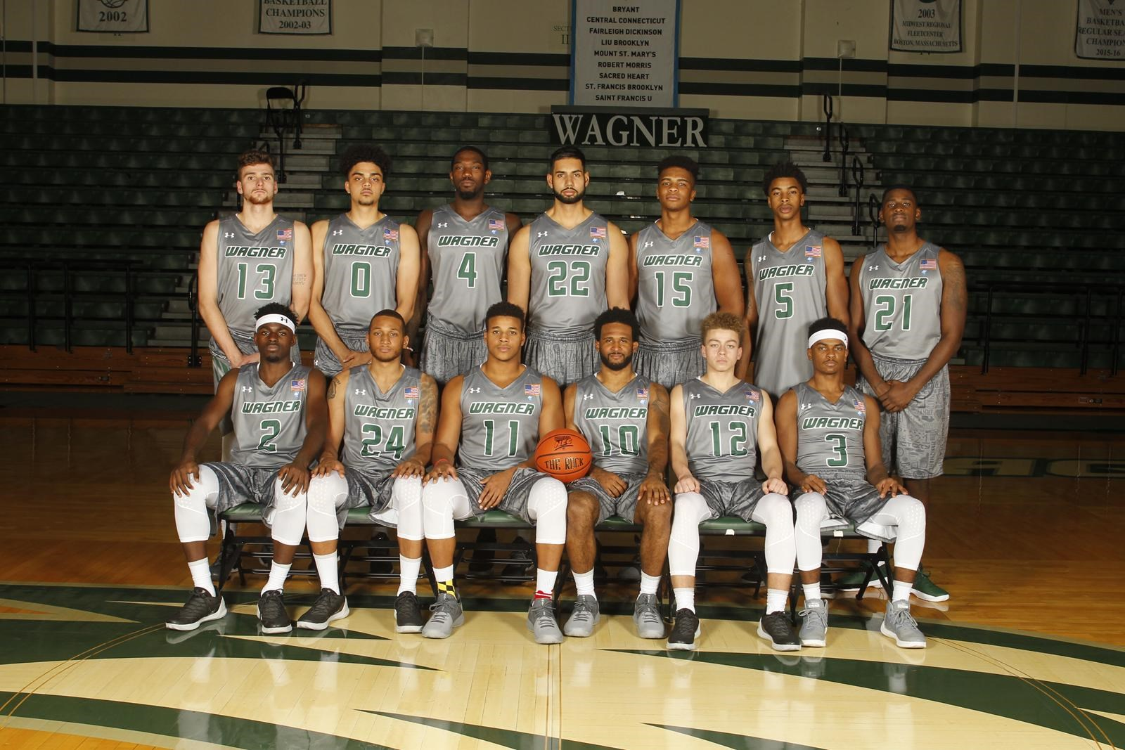 reputable site 0566e 59f0d 2017-2018 Men's Basketball Roster - Wagner College Athletics